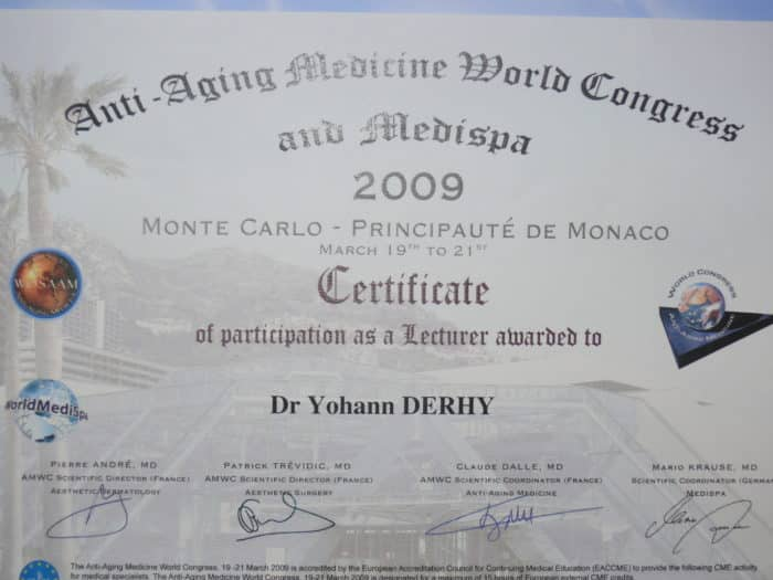 chairman antaging Monaco 2009