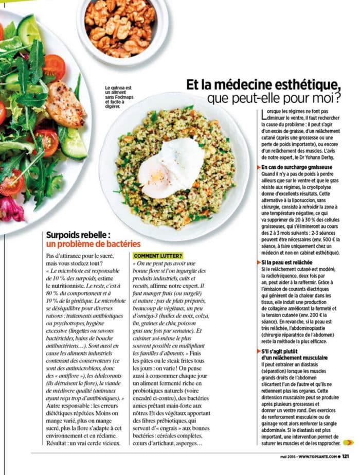 article top santé ventre